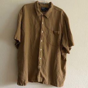 Polo by Ralph Lauren men's linen shirt